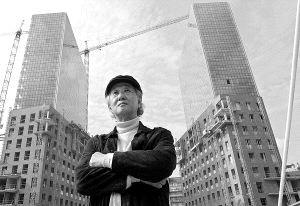 Mitxel Atrio_Isozaki frente a las torres